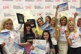 Команда EMI на международном фестивале красоты «Минский Вернисаж»