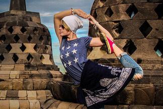 Минчанка преподаватель йоги путешествует по Азии и выкладывает фото асан в  Instagram