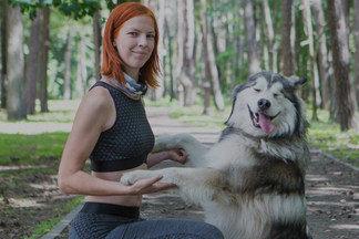 Animal-фитнес: белоруска о том, как полюбила спорт и нашла мужа благодаря собаке