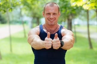 Жжем жир по максимуму: проводим короткую эффективную тренировку на  школьном стадионе