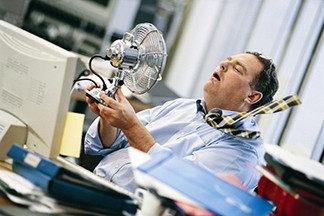 Работа в прохладных помещениях повышает продуктивность