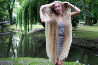 Минская Рапунцель: «В уходе за  волосами я придерживаюсь народных средств»