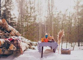Зимний пикник: здоровый инструктаж