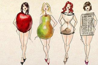 Как похудеть в зависимости от  типа фигуры