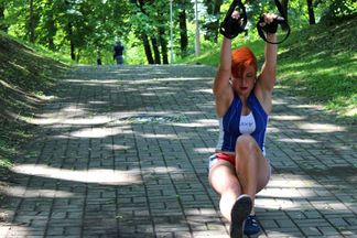 Минчанка, несмотря на  серьезные переломы после  ДТП, активно занимается спортом и готовится к  экстремальному маршруту