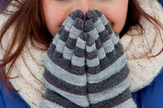 Скоро зима: мороз, Новый год и  аллергия на холод
