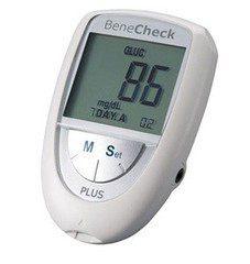 Система контроля крови General Life Biotechnology BeneCheck Plus контроль уровня Холестерина, Глюкозы, Мочевой кислоты