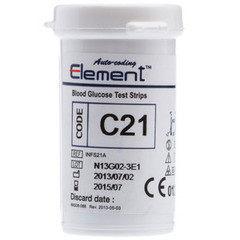 Глюкометр Глюкометр Infopia Тест-полоски для определения глюкозы 25 шт.