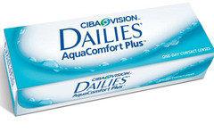 Контактные линзы CIBA Vision Dailies Aqua Comfort Plus