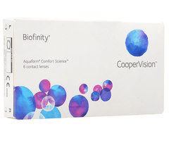 Контактные линзы Cooper Vision Biofinity
