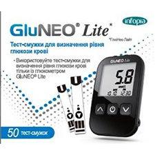 Глюкометр Глюкометр Infopia Тест-полоски GluNeo Lite (ГлюНео Лайт) 50шт.