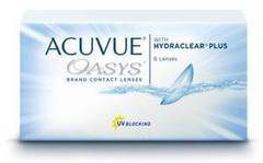 Johnson&Johnson Acuvue Oasys with Hydraclear Plus