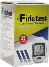 Глюкометр Finetest Тест-полоски Auto-Coding Premium 25 - фото 1