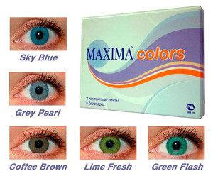 Контактные линзы Maxima Optics Colors - фото 2
